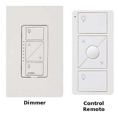 kit para controlar la iluminacion de una habitacion
