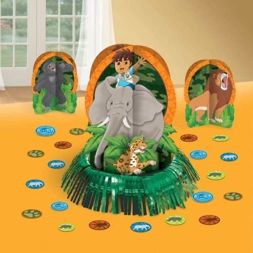 kit para decorar mesas go diego go