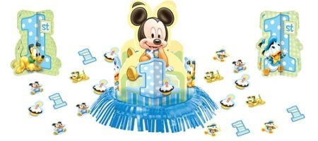 kit para decorar mesas mickey bebe/baby