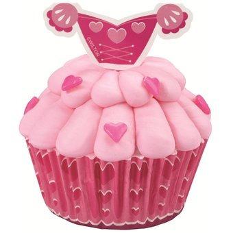 kit para decorar pastelitos princesa
