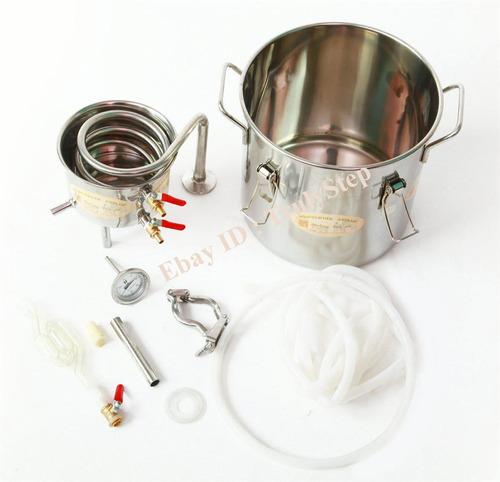 kit para destilación de alcoholes y aceites (10 litros)