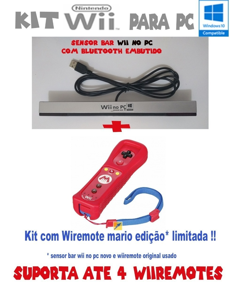 Kit Para Dolphin Nintendo Wii No Pc + Wiiremote + Nunchuck