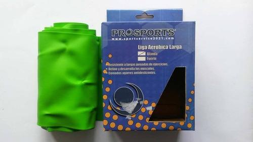 kit para ejercicios: ligas, cuerda, pinzas, bolso
