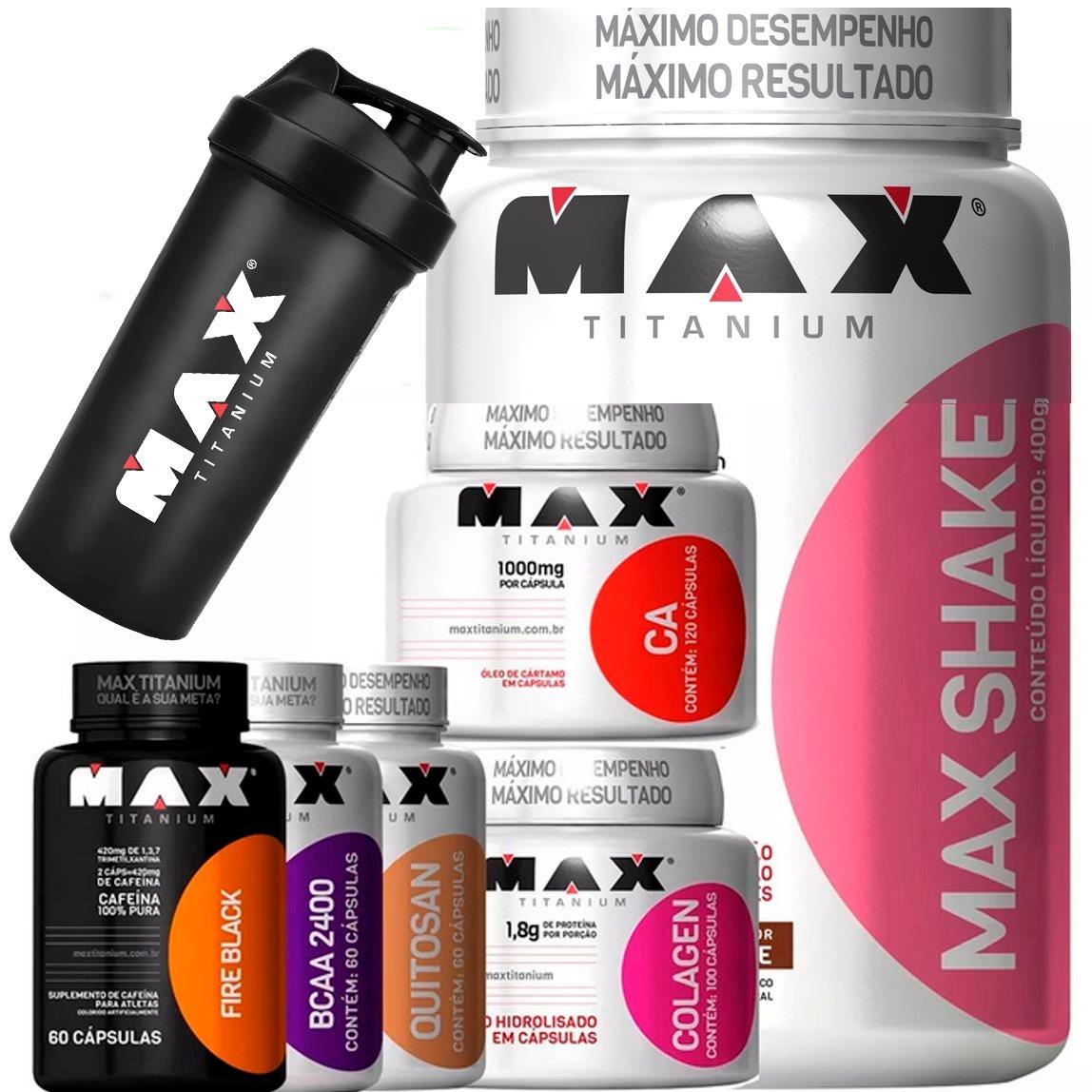 a017fc0e8 kit para emagrecer completo bcaa colageno shake termogenico. Carregando zoom .