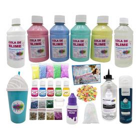 Kit Para Fazer Slime Completo Kit Slime Quite Slime