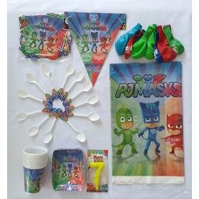 Kit Para Fiesta Infantil 12 Invitados