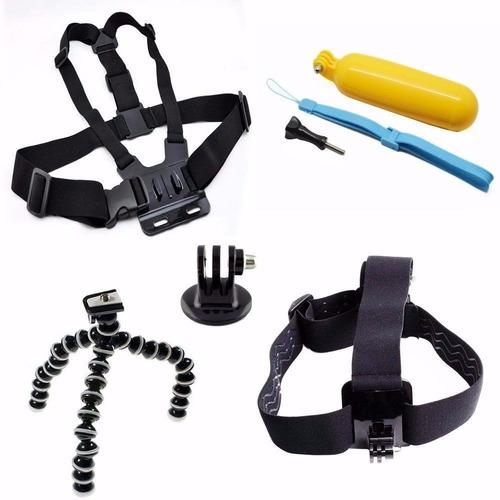 kit para go pro suportes acessórios para gopro 2/3/3+/4/hd