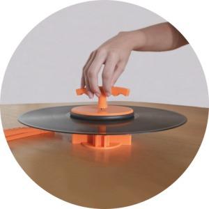 kit para lavar disco de vinil - vil cleaner - er pires