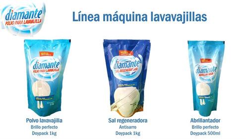 kit para lavavajilla - (2 jabon + 2 abrillantador + 2 sal)