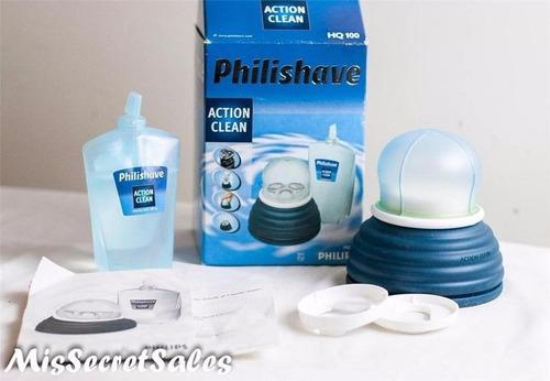 kit para limpieza maquina de afeitar barba philishave hq100