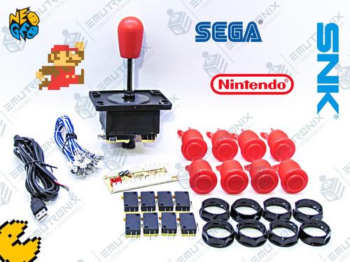 kit para máquina arcade, cosmos multijuegos 1 jugador