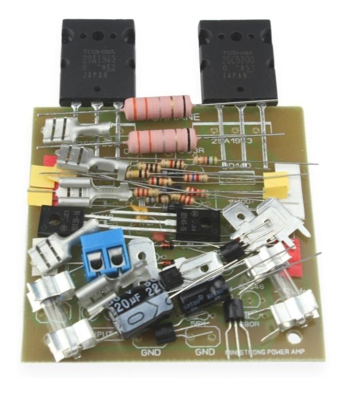 Kit Para Montar Amplificador 100w 2sc5200/2sa1943 Ministrong