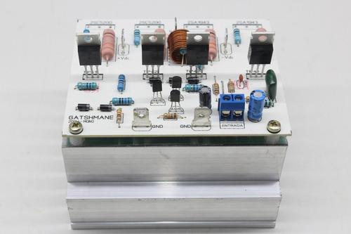 kit para montar amplificador de 200w com 2sc5200/2sa1943
