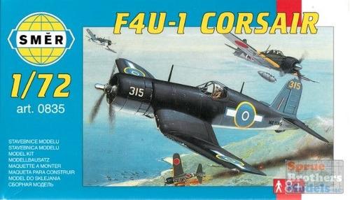 kit para montar f4u-1 corsair - smer 1:72