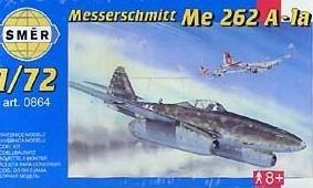 kit para montar messerschmitt me 262 a-1a - smer 1:72
