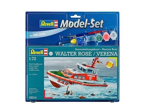 kit para montar model set rescue boat walter rose - verena