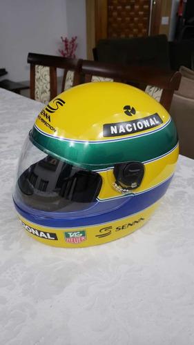 kit para pintura capacete senna(adesivos máscaras)