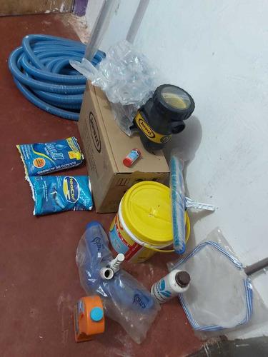 kit para piscina
