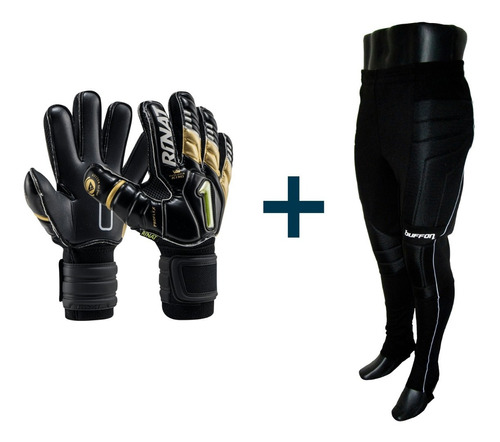 kit para portero guantes y jersey o pants - mundo arquero