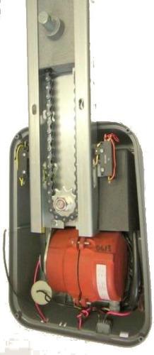 kit para portón basculante a cadena