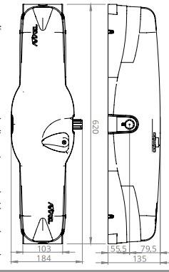 kit para porton levadizo aviatel nacional, mark10, kl 510