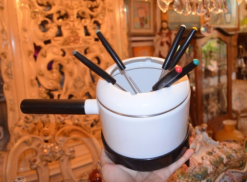 kit para preparar fondue.