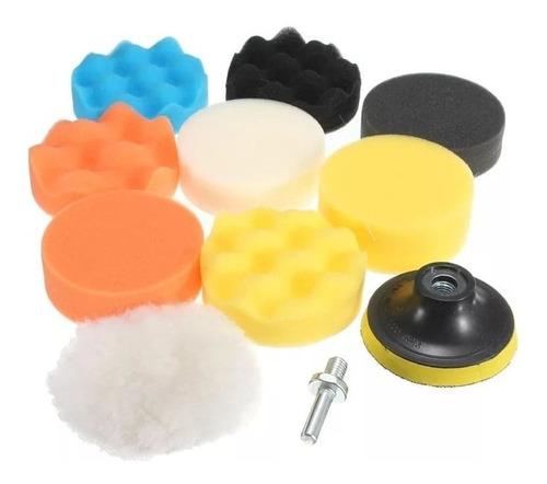 kit para pulir de 3 pulg de 11 piezas borlas