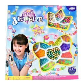 Anillo Kit Envio Para Pulsera Collar Gratis Niñas HDWE29YI