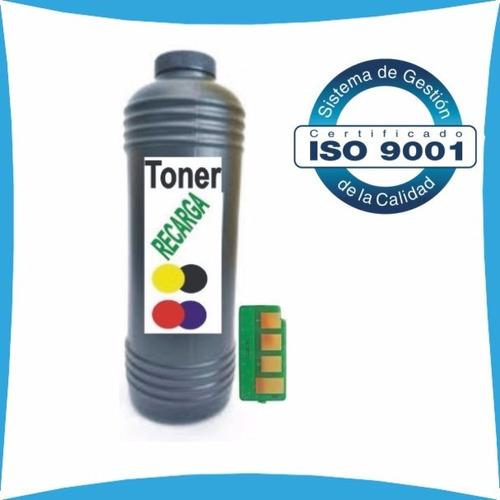 kit para recarga de toner + chip hp 35a 85a 78a y canon 128