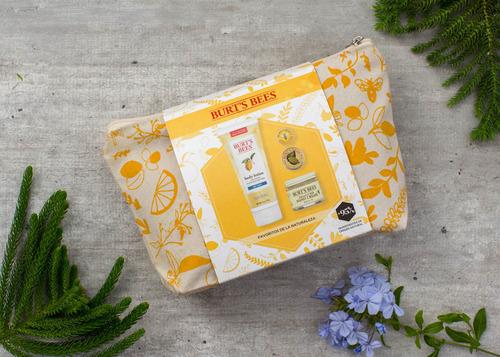 kit para regalo burt's bees los favoritos de la naturaleza