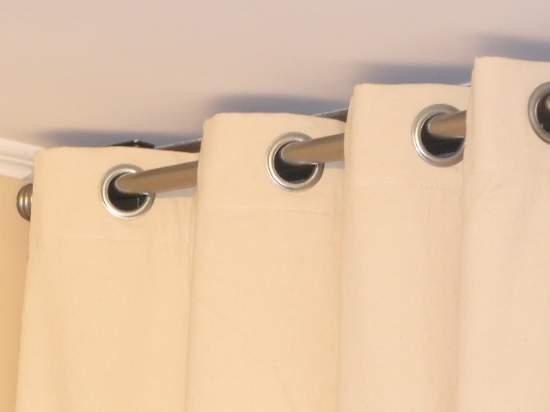 Kit para remachar ojillos para cortina con prensa jc01 for Cortinas de argollas