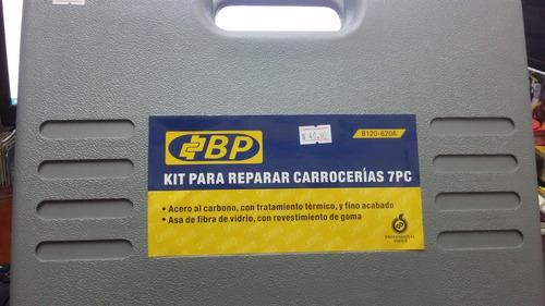 kit para reparar carrocerias 7pc marca bp