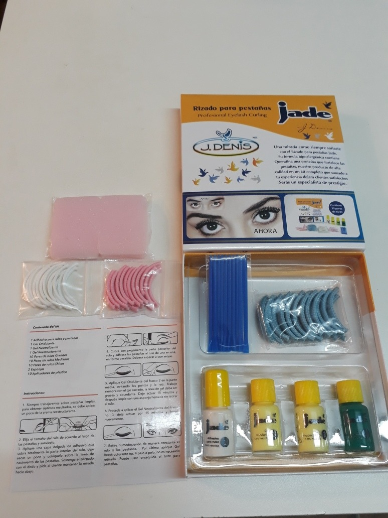 Kit Para Rizado Permanente De Pestañas Flores Liniers Caba