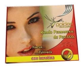 Kit Para Rizado Permanente De Pestañas Golden