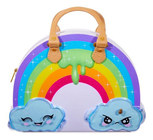 kit para slime rainbow surprise poopsie