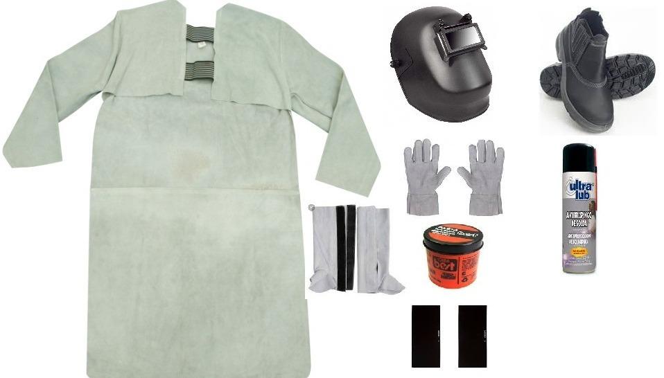 kit para soldador conjunto completo 8 pçs solda raspa epi. Carregando zoom. 3b43720449