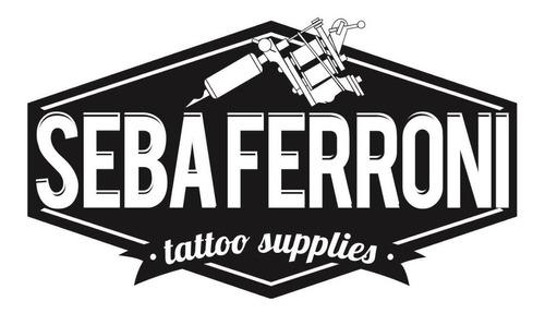 kit para tatuar tattoo tinta solid ink usa fte.y maquina nac