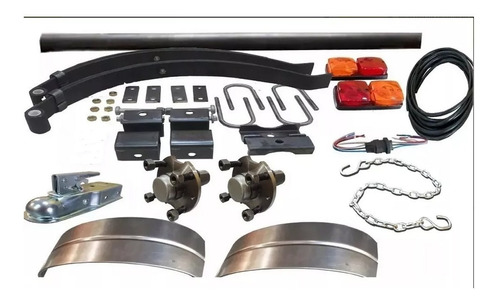 kit para trailer 450 kg completo kit 25 envio gratis