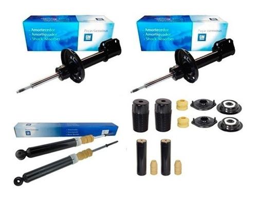 kit para troca dos amortecedores batentes corsa celta prisma