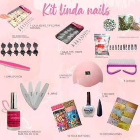 Kit Para Uñas Acrilicas Y De Gel