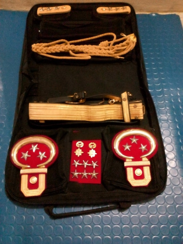 kit para uniforme numero 1 ejercito oficial subalterno