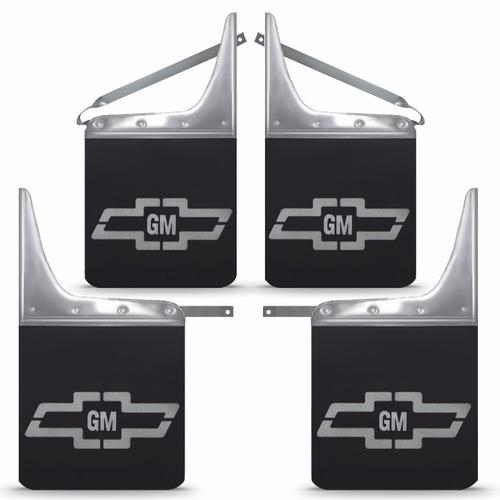 kit parabarro lameira blazer 1995/2011 com logo gm