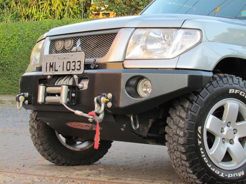 kit parachoque dianteiro e traseiro tr4