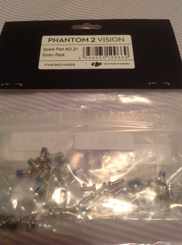 kit parafusos phanthom 2 e vision originais dji screw pack