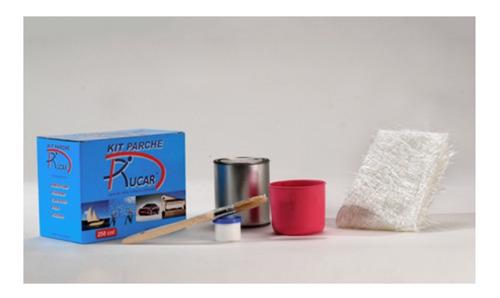 kit parche rucar 250 cm3 lana d vidrio + resina poliester mm