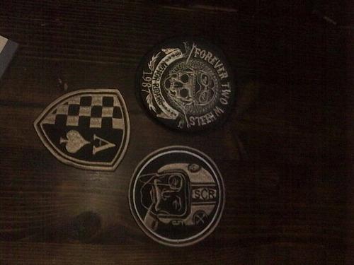 kit parches cafe racer