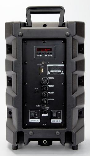 kit parlante bluetooth portatil spbyf7 + spb8b master g