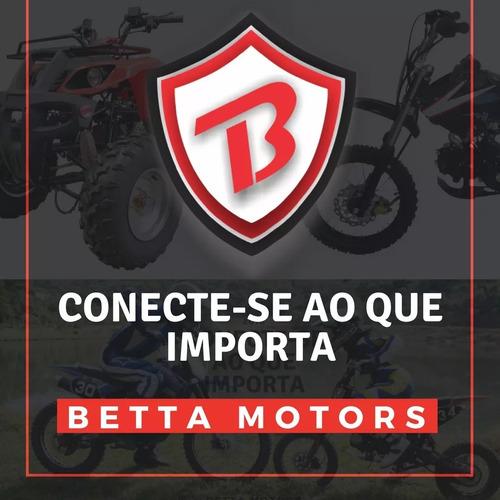 kit partida elétrica mini moto 49cc 2 tempos sem bateria