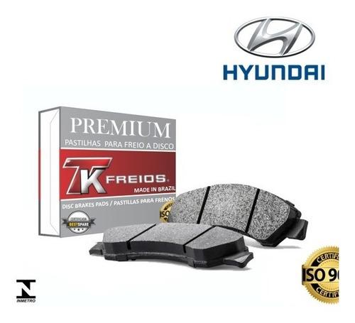 kit pastilha freio dianteira + traseira hyundai tucson