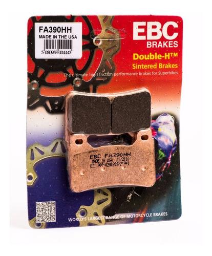 kit pastilha freio ebc fa390hh + fa488hh cb1000r
